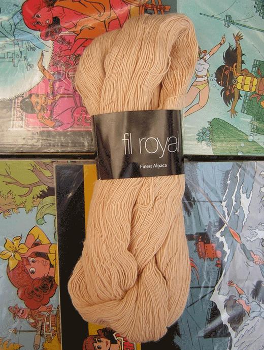 Fil Royal Lace Uni - sand - Farbe 3503