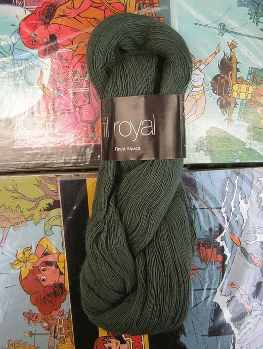 Fil Royal Lace Uni - gr�n tanne - Farbe 3514