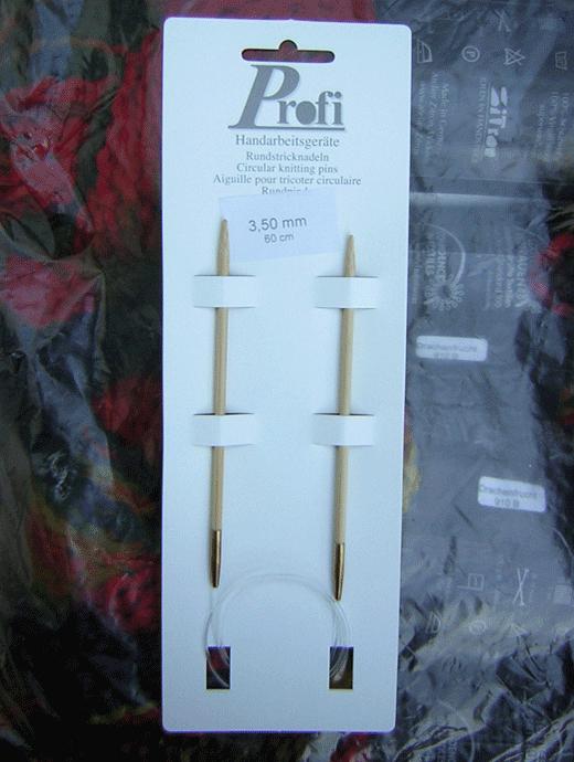 Rundstricknadel - Bambus 3,5 - Länge: 60 cm