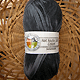 Hot Socks Colori 100 - schwarz grau