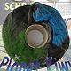 Fliegende Untertasse - Planet Kiwi