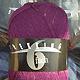 Trekking 6-fach Tweed - brombeere violett