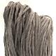 Alpaka Queen naturbelassen - Grau Melange