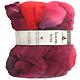 Filzwolle Ombre Kammzug - Indisch Rosa