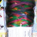 Filzwolle Fingerwolle Regenbogenkammzug - Kunterbunt