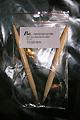 Rundstricknadel 10 - Bambus 10,0, Länge: 80 cm, Profi, Nadeln mit flexiblen transparenten Kunststoffseil, 7.90 €