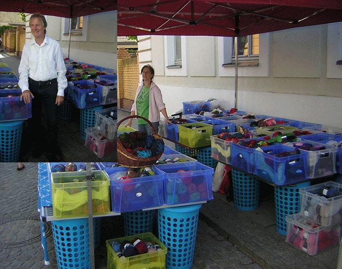 Brandenburgtag Marktstand