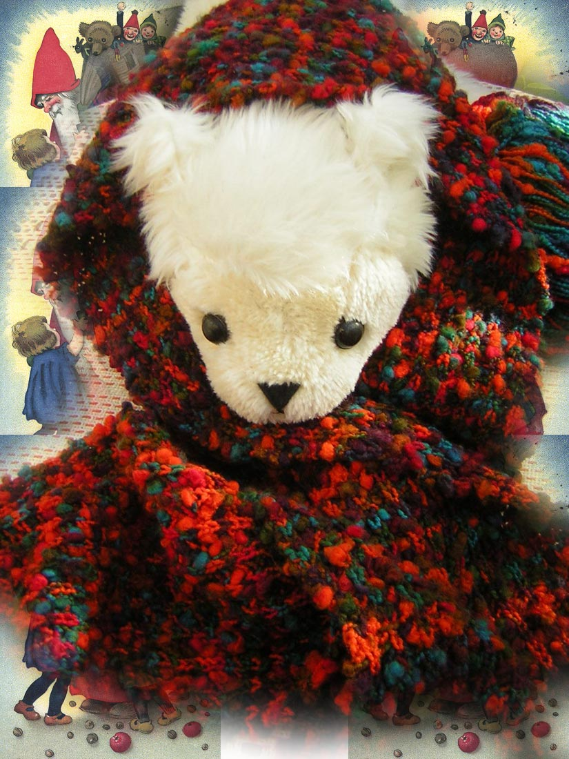 Blickfang Wolle f�r Schals